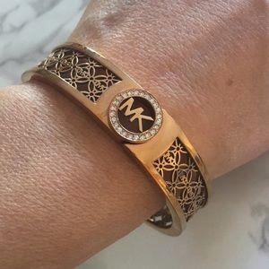 Michael Kors Logo Lattice Bungle Bracelet